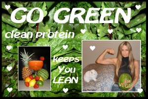 go green clean protein keeps you lean