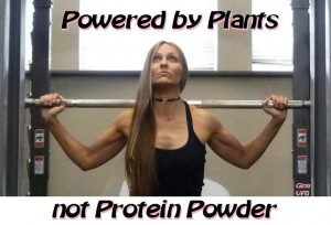 powered by plants not protein powder gina matthews
