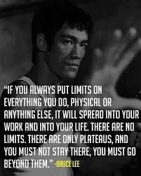 bruce lee plateaus