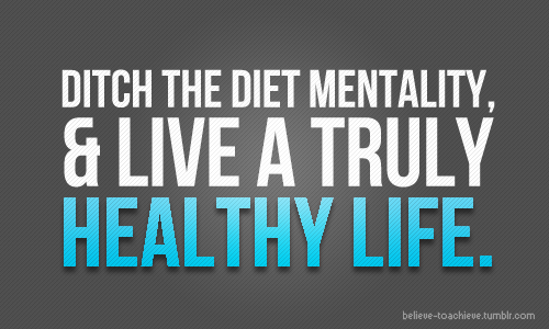 Image result for You Ditch the Dieting Mentality