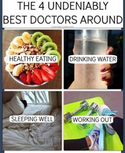 the four best doctors around sleep exercise working out healthy diet