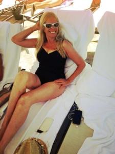 Mimi Kirk in bathing suit 75