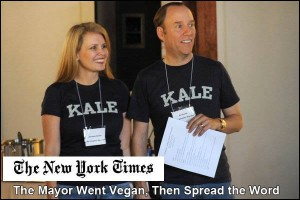 Ed Smith Texas Mayor goes vegan