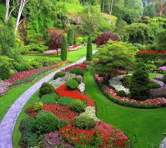 butchart gardens rivers of colors