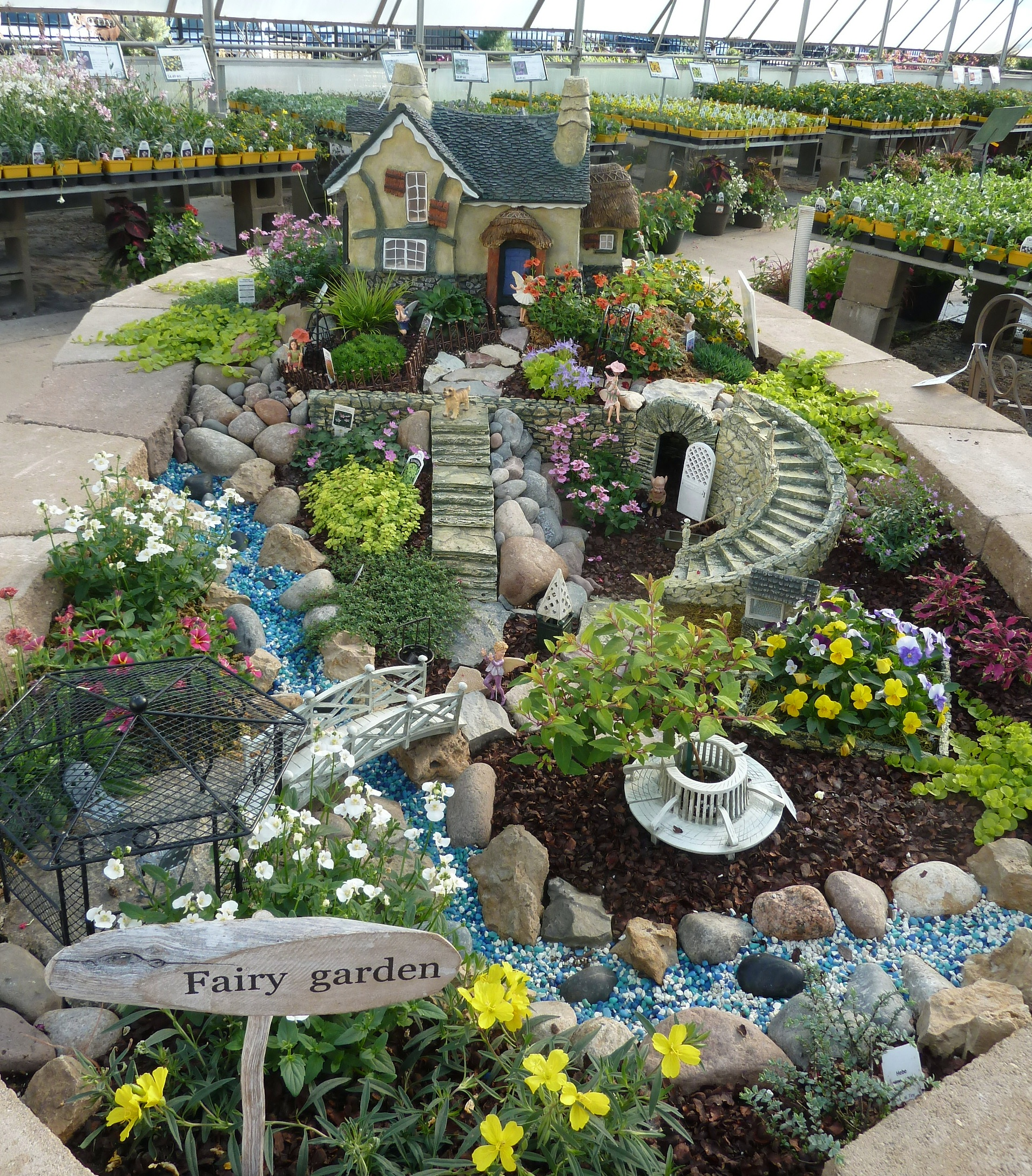 Edible landscaping and fairy gardens the fruit doctor for Interesting garden designs