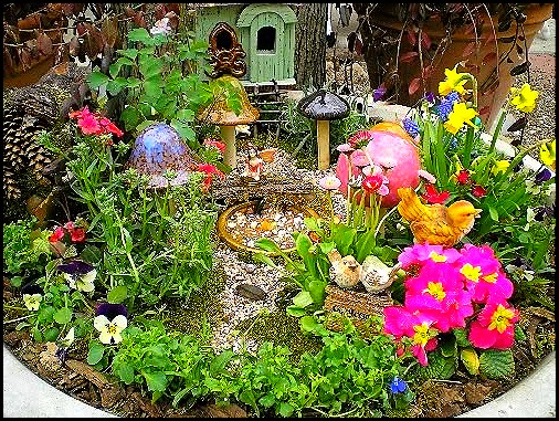 Garden Design With Edible Landscaping And Fairy Gardens The Fruit Doctor  With Outdoor Landscape Lighting From