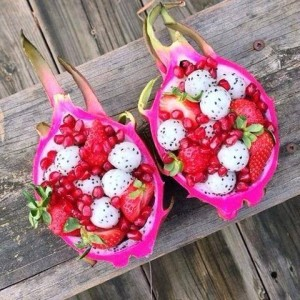 dragon fruit boats