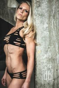 rachel godwin black cut out bikini