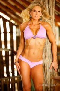 rachel godwin pink bikini