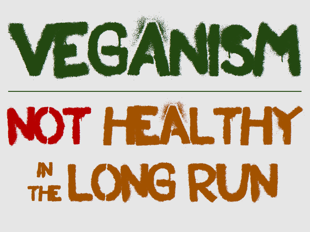 Vegan . . . It's not a diet, It's a lifestyle.
