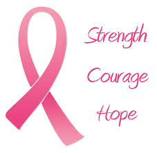 breast cancer strength courage hope